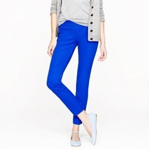J Crew Minnie Stretch Slacks sz: 0R